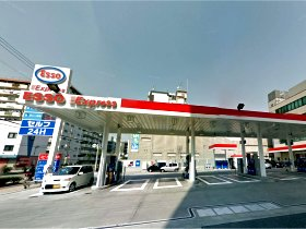 大阪市鶴見区鶴見4-3-28 ESSO 今福鶴見SS タイガー石油(株) -01