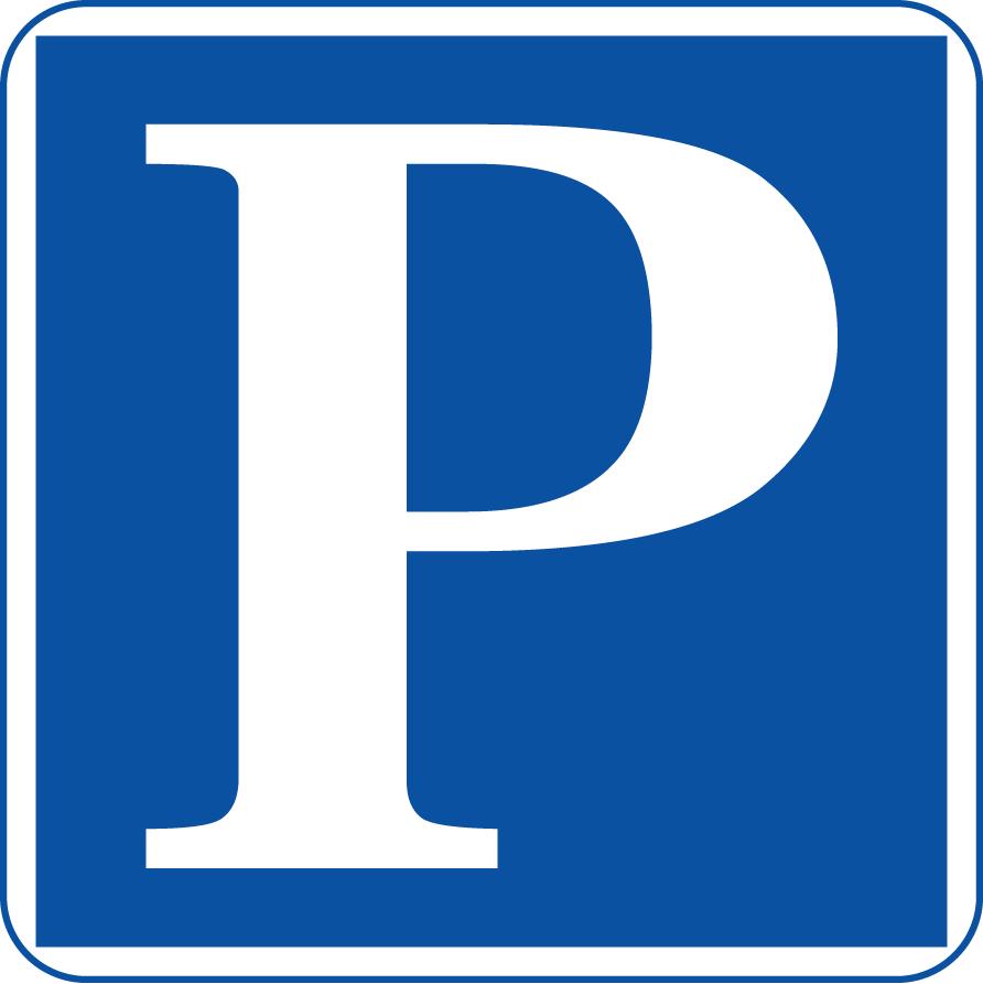 無料駐車場素材、駐車場案内標識・標示・看板イラスト[駐車場マーク角P